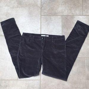 Lauren Conrad size 6 skinny corduroy pant